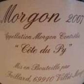Domaine Jean Foillard Morgon Cote du Py,Beaujolais,France