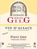 吉力歌老藤灰皮诺半干型白葡萄酒(Domaine Armand Gilg Pinot Gris Vieilles Vignes,Alsace,France)