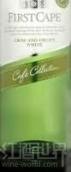 海角咖啡收藏松脆水果白葡萄酒(First Cape Cafe Collection Crisp and Fruity White,South ...)