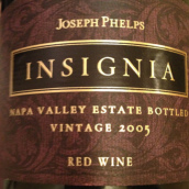 约瑟夫菲尔普斯徽章干红葡萄酒(Joseph Phelps Vineyards Insignia,Napa Valley,USA)