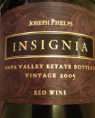 约瑟夫菲尔普斯徽章红葡萄酒(Joseph Phelps Vineyards Insignia, Napa Valley, USA)
