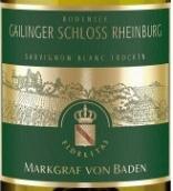 巴登侯爵给灵歌莱茵堡长相思干白葡萄酒(Weingut Markgraf Von Baden Gailinger Schloss Rheinburg ...)