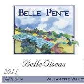 贝尔·彭特贝尔瓦索餐酒(Belle Pente Belle Oiseau Table Wine,Willamette Valley,USA)