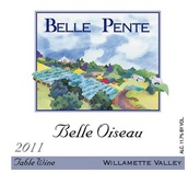 贝尔·彭特贝尔瓦索餐酒(Belle Pente Belle Oiseau Table Wine,Willamette Valley,USA)