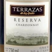 安第斯台阶珍藏霞多丽干白葡萄酒(Terrazas de los Andes Reserva Chardonnay,Mendoza,Argentina)