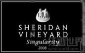 谢里丹酒庄奇点干红葡萄酒(Sheridan Vineyard Singularity,Washington,USA)