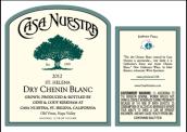 努艾斯塔酒庄白诗南干白葡萄酒(Casa Nuestra Chenin Blanc Dry,Napa Valley,USA)