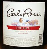 加州乐事基安帝风格干红葡萄酒(Carlo Rossi Chianti,California,USA)