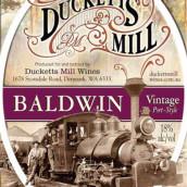 达克特磨坊酒庄秃赢波特加强酒(Ducketts Mill Wines Bald Win Vintage Port,Denmark,Australia)