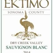 感恩酒庄长相思干白葡萄酒(Ektimo Vineyards Sauvignon Blanc, Dry Creek Valley, USA)