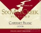 六里溪品丽珠干红葡萄酒(Six Mile Creek Vineyard Cabernet Franc,Finger Lakes,USA)