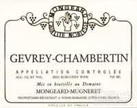 奇梦热夫雷-香贝丹干红葡萄酒(Domaine Mongeard Mugneret Gevery-Chambertin, Cote de Nuits, France)
