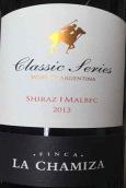 茶米泽酒庄经典系列西拉-马尔贝克红葡萄酒(La Chamiza Classic Series Shiraz-Malbec,Mendoza,Argentina)