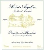 安杰林酒庄普里米蒂沃干红葡萄酒(Poderi Angelini Primitivo,Puglia,Italy)