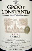古特•康斯坦提亚西拉干红葡萄酒(Groot Constantia Shiraz,Constantia,South Africa)