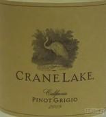 仙鹤湖灰皮诺干白葡萄酒(Crane Lake Pinot Grigio, California, USA)