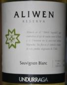 安杜拉加阿里文珍藏长相思白葡萄酒(Undurraga Aliwen Reserva Sauvignon Blanc, Leyda/Curico Valley, Chile)