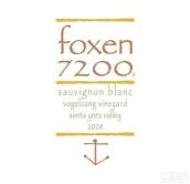 福克森沃格赞格园长相思干白葡萄酒(Foxen Vogelzang Vineyard Sauvignon Blanc,Happy Canyon,USA)