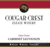 美洲狮酒庄酿造珍藏赤霞珠干红葡萄酒(Cougar Crest Winery Reserve Cabernet Sauvignon,Washington,...)