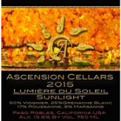 上升酒庄太阳之光起泡酒(Ascension Cellars Lumiere du Soleil, Paso Robles, USA)