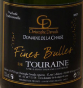 谢泽酒庄都兰白起泡酒(DomainedelaChaise Fines Bulles de Touraine Blanc,...)