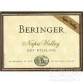 贝灵哲雷司令干白葡萄酒(Beringer Dry Riesling,Napa Valley,USA)