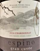威廉·费尔埃斯皮诺特酿霞多丽白葡萄酒(William Fevre Espino Gran Cuvee Chardonnay,Maipo Valley,...)
