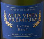 阿尔塔维斯塔独特白中白干型起泡酒(Alta Vista Premium Extra Brut Blanc de Blancs,Mendoza,...)