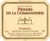 康曼德里庄园红葡萄酒(Chateau Prieurs de la Commanderie, Pomerol, France)