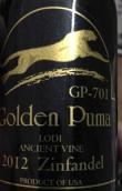 金狮701老藤仙粉黛干红葡萄酒(Golden Puma Gp-701 Ancient Vine Zinfandel, Lodi, USA)