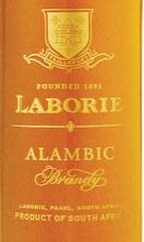 历堡雅文邑白兰地(Laborie Alambic Brandy,Paarl,South Africa)