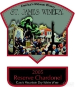 露珍珍藏沙多内尔干白葡萄酒(St.James Winery Reserve Chardonel,Ozark Highlands,USA)
