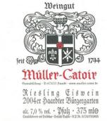 卡托尔哈尔特伯哲园雷司令冰酒(Muller-Catoir Haardter Burgergarten Riesling Eiswein, Pfalz, Germany)