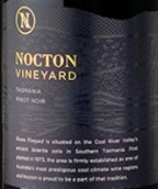 诺克顿酒庄黑皮诺红葡萄酒(Nocton Vineyard Pinot Noir, Coal River Valley, Australia)