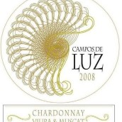 阳光田园霞多丽-维奥娜-麝香混酿干白葡萄酒(Campos de Luz Chardonnay-Viura-Muscat,Carinena,Spain)