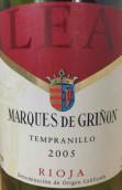 Marques de Grinon Alea Tempranillo, Rioja DOCa, Spain