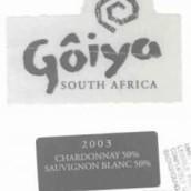 戈雅酒庄霞多丽-长相思干白葡萄酒(Goiya Chardonnay-Sauvignon Blanc,Olifants River,South Africa)