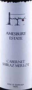 埃姆斯伯里庄园赤霞珠-西拉-梅洛混酿干红葡萄酒(Amesbury Estate Cabernet Shiraz Merlot,Riverina,Australia)