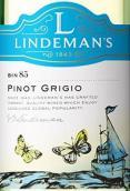 利达民酒庄Bin85灰皮诺白葡萄酒(Lindeman's Bin 85 Pinot Grigio, South Eastern Australia)