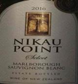 尼库精选长相思干白葡萄酒(Nikau Point Select Sauvignon Blanc,Marlborough,New Zealand)