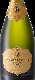 格雷厄姆·贝克瑞思干型香槟起泡酒(Graham Beck Brut Rose Champagne Blend,Western Cape,South ...)