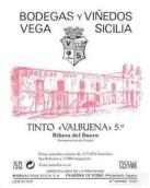 贝加西西里亚瓦布伦纳 5°干红葡萄酒(Vega-Sicilia Valbuena 5°,Ribera del Duero,Spain)