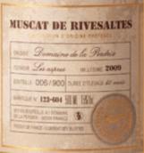 松鸡酒庄莫斯卡托珍藏甜白葡萄酒(Domaine De La Perdrix Muscat Collection,Roussillon,France)