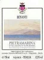 Benanti Pietramarina Etna Bianco Superiore,Sicily,Italy