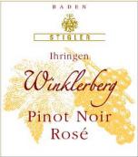 施蒂格勒依瑞恩温克乐堡黑皮诺干型桃红小房酒(Weingut Stigler Ihringen Winklerberg Pinot Noir Rose Kabinett Trocken, Baden, Germany)