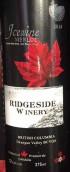 瑞芝塞德酒庄梅洛冰酒(Ridgeside Winery Merlot icewine,British Columbia,Canada)