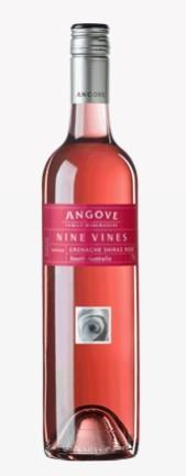 安戈瓦九藤系列桃红葡萄酒(Angove Nine Vines Grenache-Shiraz Rose,South Australia)