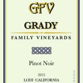 格雷迪家族酒庄黑皮诺干红葡萄酒(Grady Family Vineyards Pinot Noir, Lodi, USA)