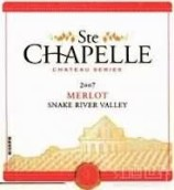 圣教堂城堡系列梅洛干红葡萄酒(Ste.Chapelle Chateau Series Merlot,Snake River Valley,USA)
