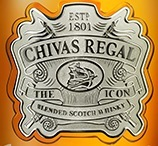 芝华士顶级系列苏格兰调和威士忌(Chivas Regal The Icon Blended Scotch Whisky,Speyside,UK)